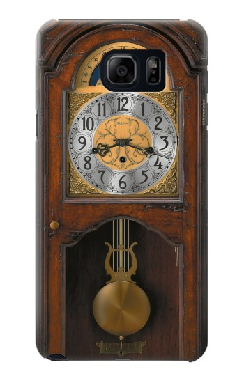 Printed Grandfather Clock Antique Wall Clock Samsung Galaxy S6 edge plus Case