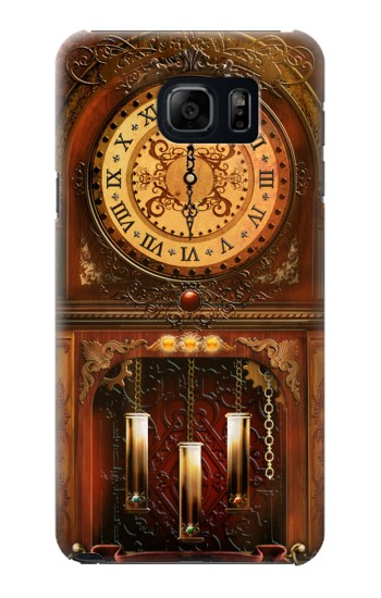 Printed Grandfather Clock Samsung Galaxy S6 edge plus Case