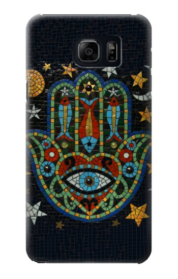Printed Hamsa Hand Mosaics Samsung Galaxy S6 edge plus Case