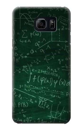 Printed Math Formula Greenboard Samsung Galaxy S6 edge plus Case