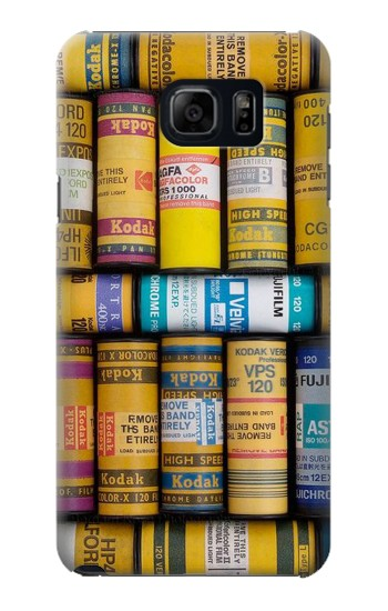 Printed MM Film Camera Samsung Galaxy S6 edge plus Case