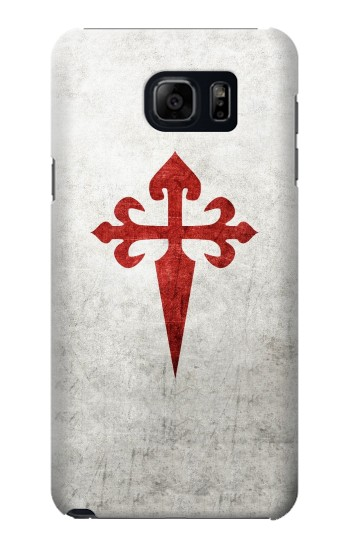 Printed Order of Santiago Cross of Saint James Samsung Galaxy S6 edge plus Case