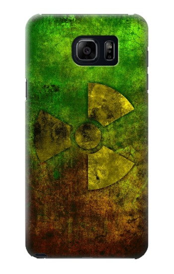Printed Radioactive Symbol Samsung Galaxy S6 edge plus Case