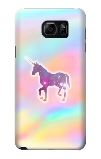 Printed Rainbow Unicorn Samsung Galaxy S6 edge plus Case