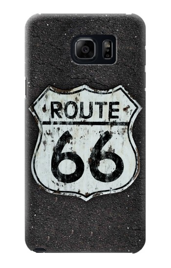Printed Route 66 Sign Samsung Galaxy S6 edge plus Case