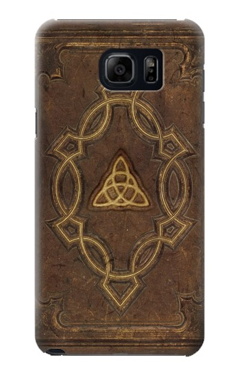 Printed Spell Book Cover Samsung Galaxy S6 edge plus Case
