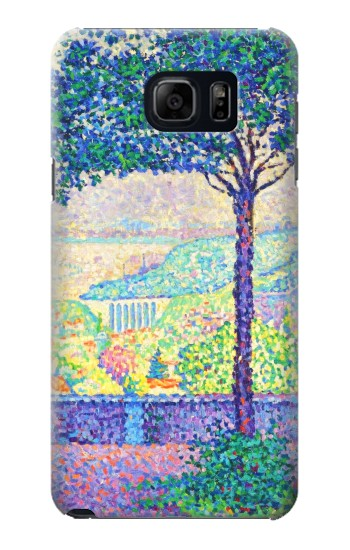 Printed Paul Signac Terrace of Meudon Samsung Galaxy S6 edge plus Case