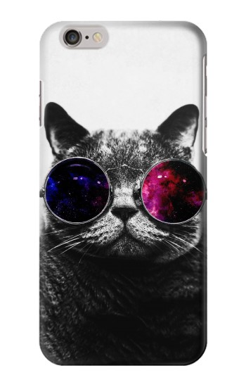 Printed Cool Cat Glasses Iphone 6s plus Case