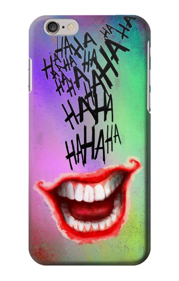 Printed Joker Hahaha Tattoo Iphone 6s plus Case