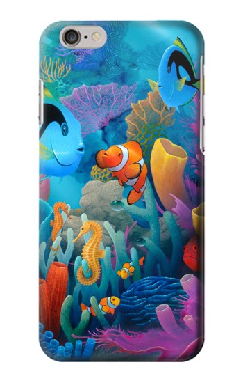 Printed Underwater World Cartoon Iphone 6s plus Case