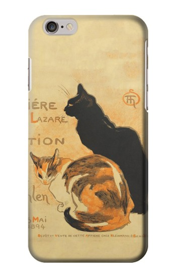 Printed Vintage Cat Poster Iphone 6s plus Case