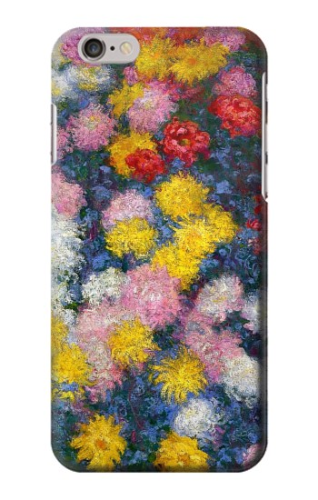 Printed Claude Monet Chrysanthemums Iphone 6s plus Case