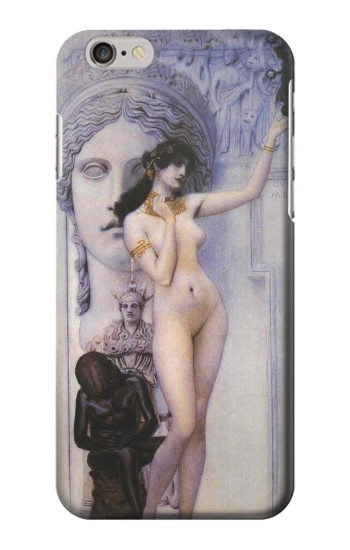 Printed Gustav Klimt Allegory of Sculpture Iphone 6s plus Case
