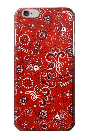 Printed Red Bandana Iphone 6s plus Case