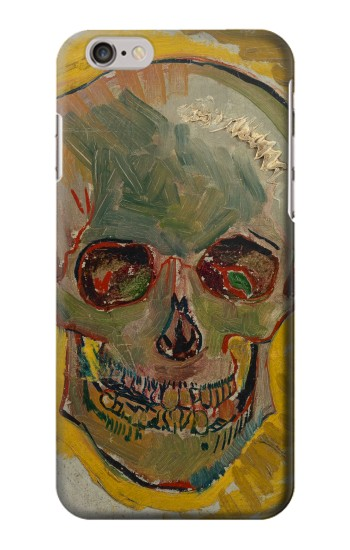 Printed Vincent Van Gogh Skull Iphone 6s plus Case