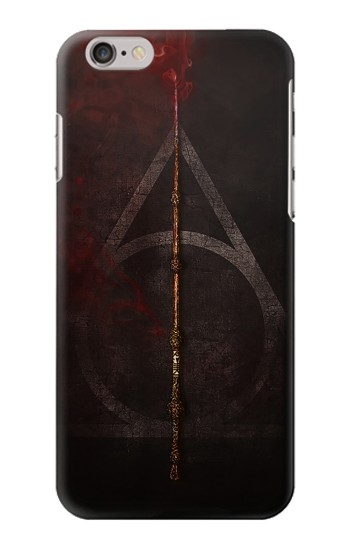Printed Deathly Hallows Magic Wand Red Iphone 6s plus Case