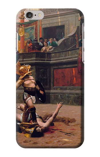 Printed Pollice Verso Jean Leon Gerome Roman Gladiator Iphone 6s plus Case