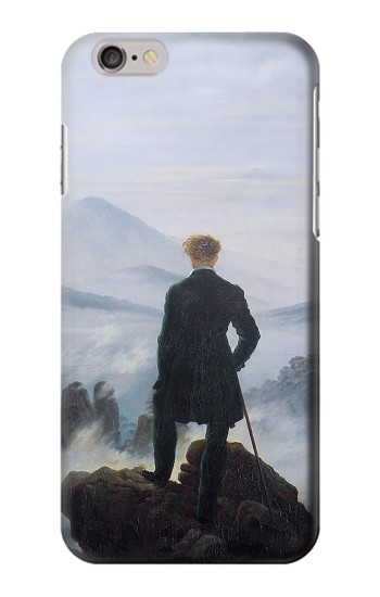 Printed Wanderer above the Sea of Fog Iphone 6s plus Case