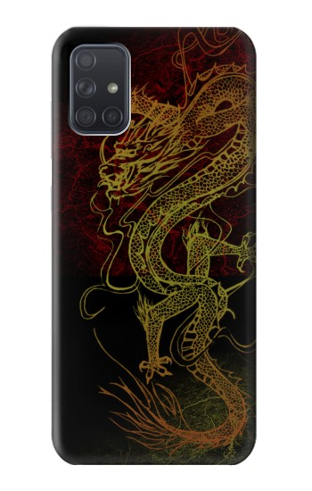 Printed Chinese Dragon Samsung Galaxy A71 5G Case