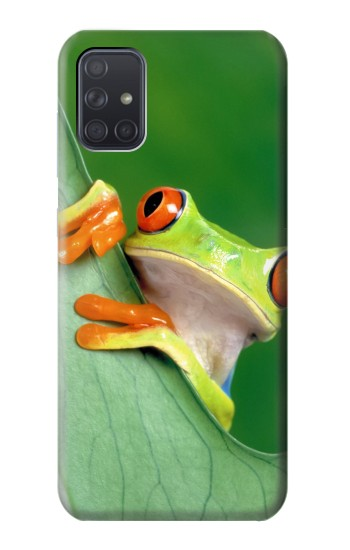 Printed Little Frog Samsung Galaxy A71 5G Case