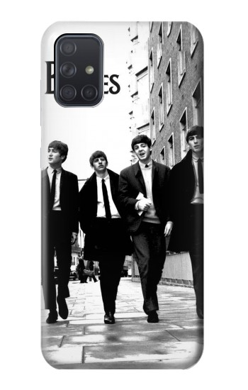 Printed The Beatles in London Samsung Galaxy A71 5G Case