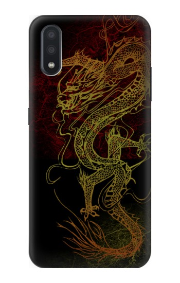 Printed Chinese Dragon Samsung Galaxy A01 Case