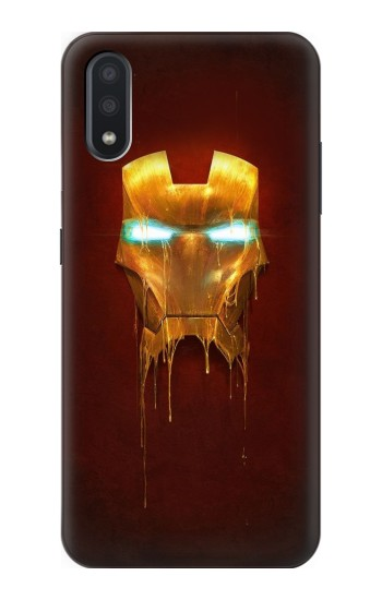 Printed Ironman Mask Samsung Galaxy A01 Case