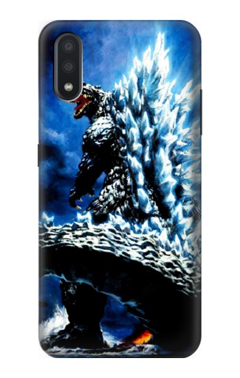 Printed Godzilla Giant Monster Samsung Galaxy A01 Case