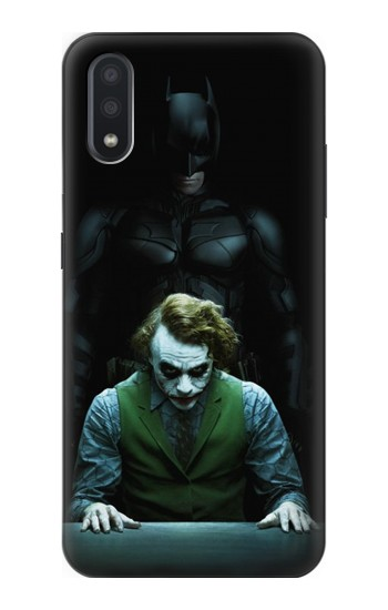 Printed Batman Joker Samsung Galaxy A01 Case