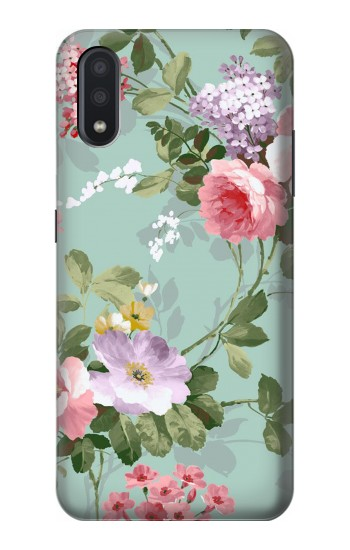 Printed Flower Floral Art Painting Samsung Galaxy A01 Case
