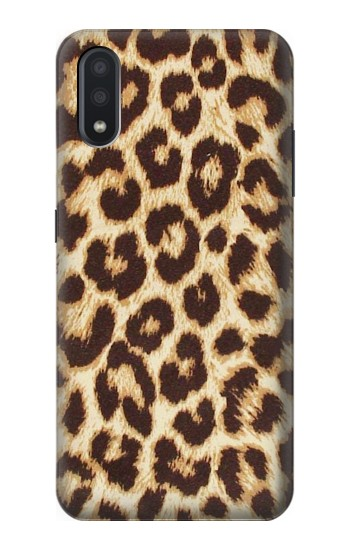 Printed Leopard Pattern Graphic Printed Samsung Galaxy A01 Case