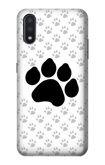 Printed Paw Foot Print Samsung Galaxy A01 Case