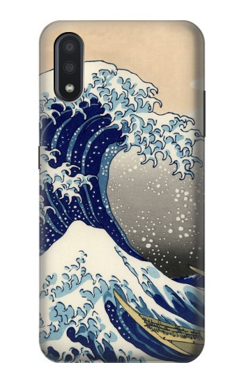 Printed Katsushika Hokusai The Great Wave off Kanagawa Samsung Galaxy A01 Case