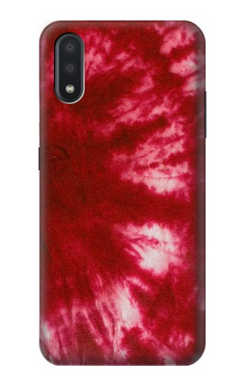 Printed Tie Dye Red Samsung Galaxy A01 Case