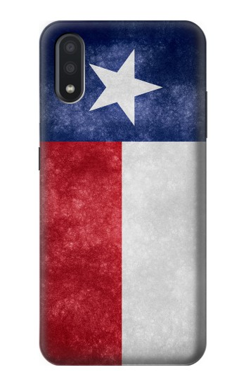 Printed Texas Retro Flag Samsung Galaxy A01 Case