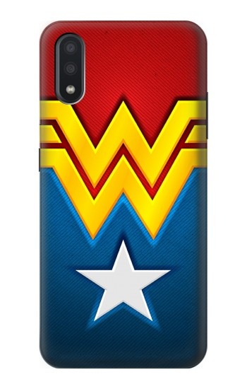 Printed Wonder Women Logo Samsung Galaxy A01 Case