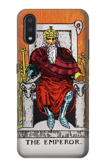 Printed Tarot Card The Emperor Samsung Galaxy A01 Case