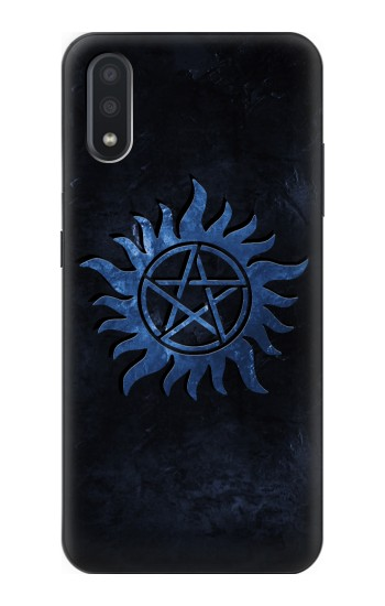 Printed Supernatural Anti Possession Symbol Samsung Galaxy A01 Case