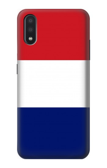 Printed Flag of France and the Netherlands Samsung Galaxy A01 Case