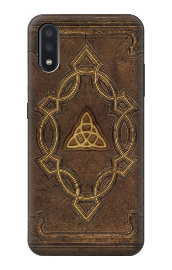 Printed Spell Book Cover Samsung Galaxy A01 Case
