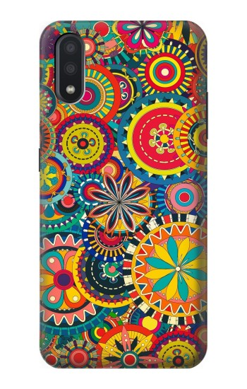 Printed Colorful Pattern Samsung Galaxy A01 Case