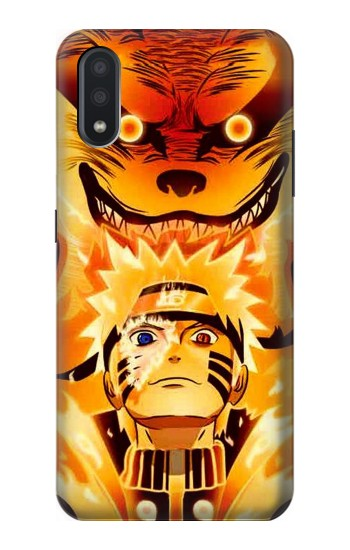 Printed Naruto Kurama Nine Tailed Fox Samsung Galaxy A01 Case