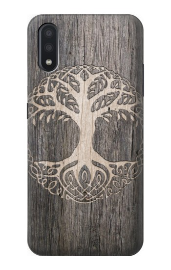 Printed Viking Tree of Life Symbol Samsung Galaxy A01 Case
