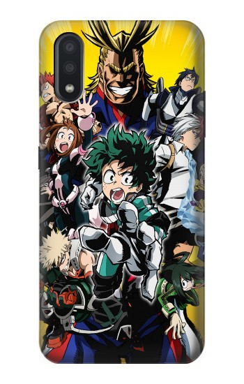 Printed My Hero Academia Samsung Galaxy A01 Case