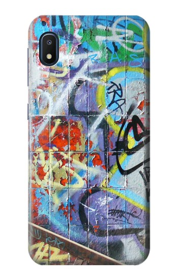 Printed Wall Graffiti Samsung Galaxy A10e Case