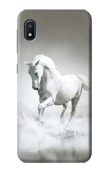 Printed White Horse Samsung Galaxy A10e Case