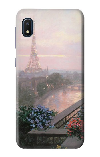 Printed Terrace in Paris Eifel Samsung Galaxy A10e Case