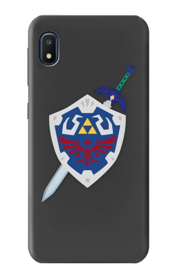 Printed Skyward Sword Hylian Shield Zelda Samsung Galaxy A10e Case