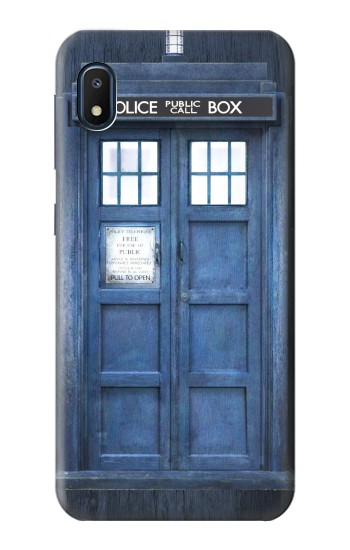Printed Doctor Who Tardis Samsung Galaxy A10e Case