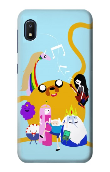 Printed Adventure Time Finn Jeck Marceline Bubblegum Samsung Galaxy A10e Case